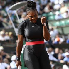 'I feel like a warrior princess': Serena on her Black Panther-inspired catsuit
