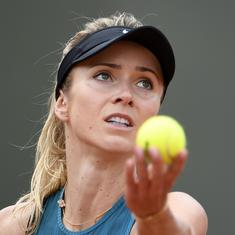 French Open, day 6, women's roundup: 4th seed Svitolina knocked out, Wozniacki cruises through