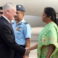 2+2 dialogue was a defining moment for India-US relations, says Secretary of Defense James Mattis