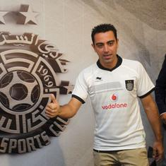 Football: Barcelona great Xavi named coach of Al-Sadd after playing for the Qatari club since 2015