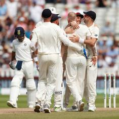 England v India, first Test, day 4 as it happened: Heartbreak for India as England win by 31 runs