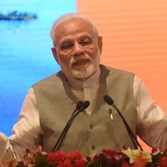 'I am not scared of being seen with industrialists,' says Modi as he launches 81 projects in Lucknow