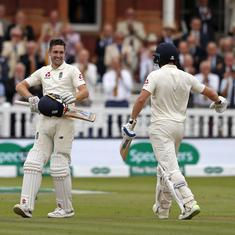 Woakes, Bairstow snuff out hopes of an India fightback as England take control of second Test