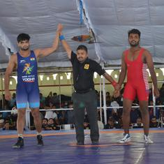 Sajan Bhanwal, Manish win gold medals in  Under-23 Junior National Wrestling Championships