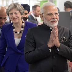 क्या भारतीयों के लिए वीज़ा मुश्किल करना ब्रिटेन की जैसे को तैसा वाली रणनीति है?