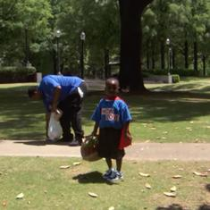 Watch: This four-year-old caped crusader is fighting homelessness and spreading love