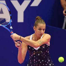 Tennis: Karolina Pliskova and Elina Svitolina seal last WTA Finals spots at Kremlin Cup