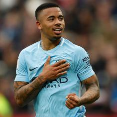 He's still young: Pep Guardiola not concerned about Gabriel Jesus's World Cup hangover