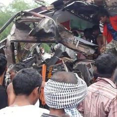 Uttar Pradesh: Nine killed, at least 18 injured as buses collide on Aligarh-Agra highway