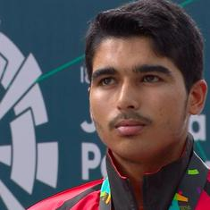 Saurabh Chaudhary leads India's golden sweep in junior men's 10m pistol event at Asian Airgun C'ship