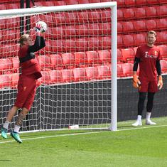 Simon Mignolet extends support to Karius, says fellow Liverpool keeper will bounce back