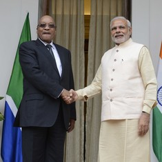 Why Indian leaders, including Modi, are lining up to visit African countries