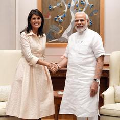US envoy to UN Nikki Haley meets PM Modi, discusses cooperation in counter-terrorism measures