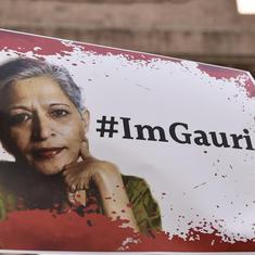 Police say suspect's diary shows Gauri Lankesh was second in a list of murder targets: Reports