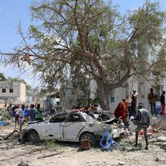 Somalia: Suicide car bomb in Mogadishu kills six and injures more than 12