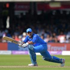 'When things don't go well, they all pounce on him': Kohli defends Dhoni's slow innings