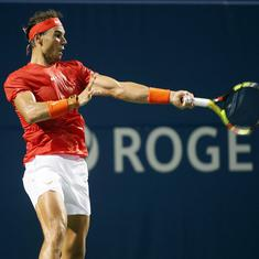 Rogers Cup: Nadal set to meet Wawrinka, Djokovic, Zverev power through, Thiem knocked out