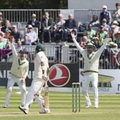 Shadab, Faheem lead Pakistan recovery after Ireland start strong in their inaugural Test