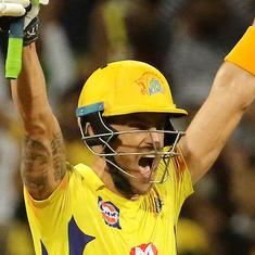 Match-winner Du Plessis played against Sunrisers because of Billings's injury: CSK coach Fleming