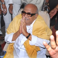 When Karunanidhi was beaten unconscious by Congress workers for criticising Gandhi