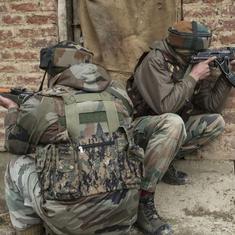 जम्मू-कश्मीर : अलग-अलग मुठभेड़ों में सेना के एक जवान और आतंकी की मौत