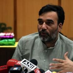 Delhi Transport Minister Gopal Rai resigns, citing 'health reasons'