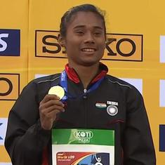 From a football player to athletics World Champion: A look at Hima Das' incredible journey