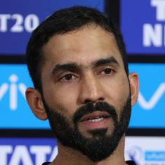 Dinesh Karthik likely to replace injured Saha for Afghanistan Test