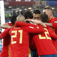 'Two hours you won't get back': Twitter goes berserk after Spain sleepwalk out of the tournament