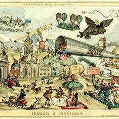 Photos: How artists of the past imagined our present (and future)