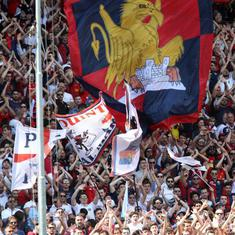 Genoa supporters to observe 43 minutes of silence during Serie A game for bridge collapse victims