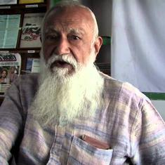 Environmentalist GD Agrawal has been fasting for over a month to save the Ganga