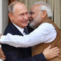 Russia's Vladimir Putin speaks to Narendra Modi to express solidarity with fight against terrorism