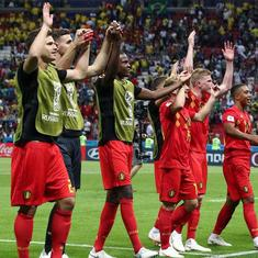 These boys deserve to be heroes in Belgium, says coach Martinez after stunning win over Brazil