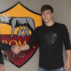 Champions League semi-finalists Roma sign Croatian international Ante Coric