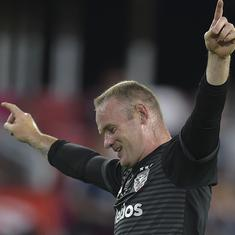Watch: Wayne Rooney scores stunning free-kick to keep DC United on track for playoffs