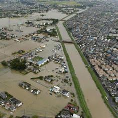तस्वीरों में : मूसलाधार बारिश से जापान में तबाही