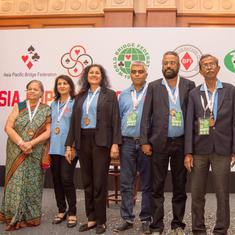 Bridge Federation of India picks 24-member squad for Asian Games