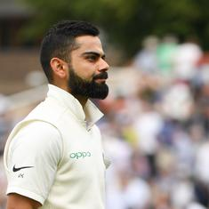 India have to learn the art of crossing the line in pressure situations, says Virat Kohli