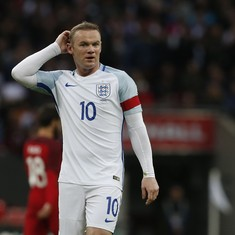 England's all-time top-scorer Wayne Rooney left out of squad for World Cup qualifier
