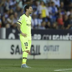 La Liga: Barcelona and Real Madrid suffer surprise defeats – their first of the season