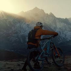 Watch: Meet the champion Nepalese mountain-biker, who built his cycle from junkyard scrap