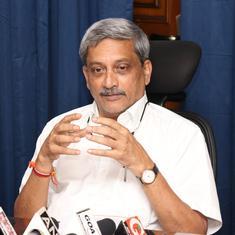 गोवा : राज्य सरकार ने माना कि मुख्यमंत्री मनोहर पर्रिकर को पैनक्रियाज़ का कैंसर है