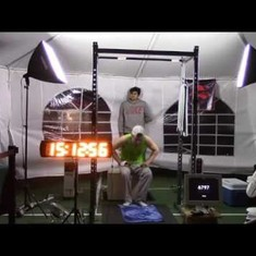 Video: This American teenager just set a world record for the most pull-ups in 24 hours