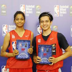 Sanjana Ramesh stars as India successfully hosts NBA's Basketball Without Borders Asia camp