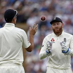 Jonny Bairstow to keep wickets as England name unchanged XI for fifth Test against India