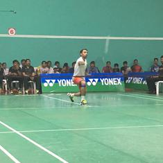 Badminton: Sourabh Verma, Sai Uttejitha Rao on course for second straight senior ranking title