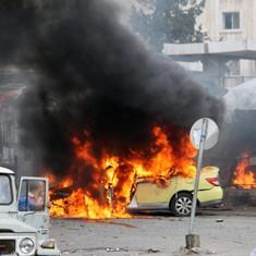 सीरिया में गठबंधन सेना का हवाई हमला, 11 बच्चों सहित 56 से ज्यादा नागरिकों की मौत