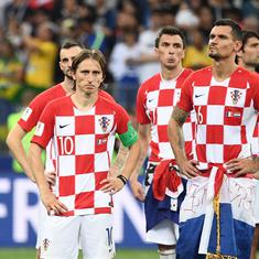 The game of chance: The real Croatia turned up for the World Cup final, their luck didn't