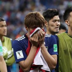 'Heartbroken for Japan': Twitter salutes Blue Samurai despite Belgium's come-from-behind win